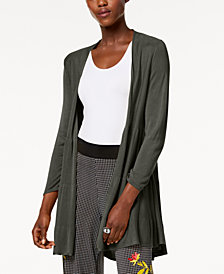 Alfani Petite Tiered Open-Front Cardigan, Created for Macy's