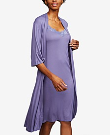 Maternity Belted Robe
