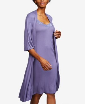 Image of A Pea In The Pod Maternity Belted Robe