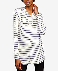 A Pea In The Pod Maternity French Terry Hoodie