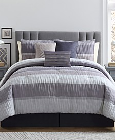 York 7-Pc. Queen Comforter Set