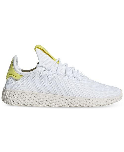 6c00f34c8 adidas Boys  Originals Pharrell Williams Tennis HU Casual Sneakers ...