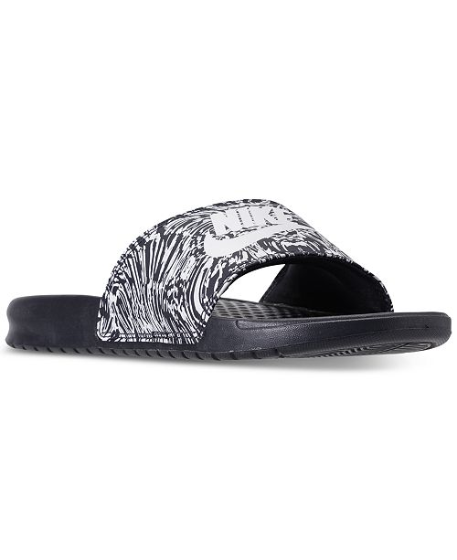 5ec2ac85f Nike Men s Benassi JDI Print Slide Sandals from Finish Line ...