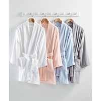 Deals on Martha Stewart Collection Cotton Terry Bath Robe