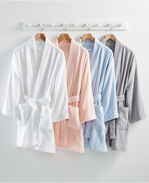 ... Martha Stewart Collection Cotton Terry Bath Robe 1f460d565