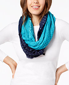 I.N.C. Ombré Waffle Loop Scarf, Created for Macy's