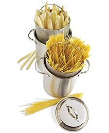 4.8-Qt. Stainless Steel Asparagus/Pasta Cooker Set