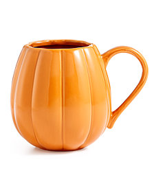 Martha Stewart Collection Pumpkin Mug, Created for Macy's