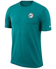 Nike Men's Miami Dolphins Coaches T-Shirt