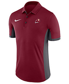 Nike Men's Oklahoma Sooners Vault Logo Evergreen Polo