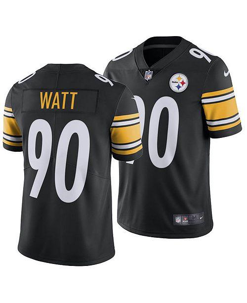 super popular 345c7 69b62 Nike Men's T.J. Watt Pittsburgh Steelers Vapor Untouchable ...