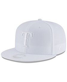 Texas Rangers White Out 59FIFTY FITTED Cap