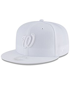Washington Nationals White Out 59FIFTY FITTED Cap