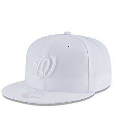 New Era Washington Nationals White Out 59FIFTY FITTED Cap