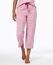 Charter Club Knit Print Pajama Pants, Created for Macy's