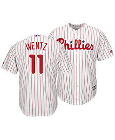 Majestic Men's Carson Wentz Philadelphia Phillies NFLPA Replica Cool Base Jersey
