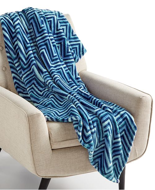 """Charter Club CLOSEOUT! Cozy Plush 50"""" x 70"""" Throw, Created for Macy's"""