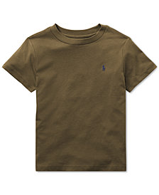 Polo Ralph Lauren Little Boys Cotton Jersey Crew-Neck T-Shirt