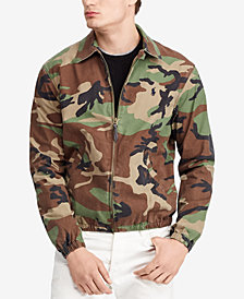 Polo Ralph Lauren Men's Bayport Camouflage Cotton Windbreaker