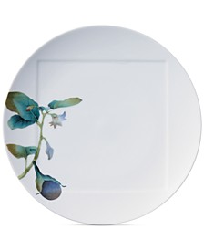 Kyoka Shunsai Eggplant Dinner Plate