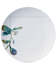 Noritake Kyoka Shunsai Eggplant Dinner Plate