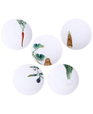 Kyoka Shunsai 5-Pc. Plate Set