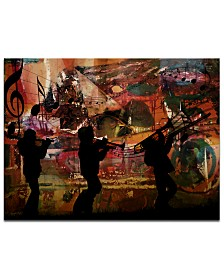 "Ready2HangArt 'Jazz Trio' Oversized 30"" x 40"" Canvas Art Print"