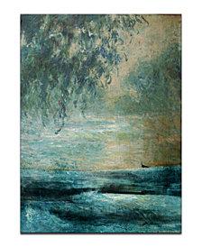 """Ready2HangArt 'BX Abstract XXVIII' Oversized 40"""" x 30"""" Canvas Art Print"""