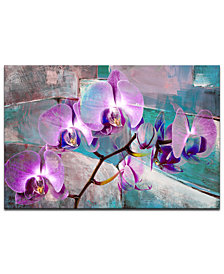 "Ready2HangArt 'Painted Petals XIX' 30"" x 40"" Canvas Art Print"