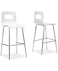Ano Bar Stool (Set of 2), Quick Ship