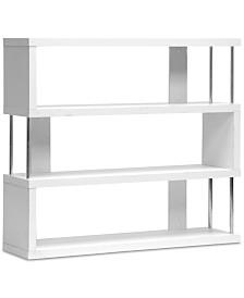 Aurel Modern Bookcase, Quick Ship