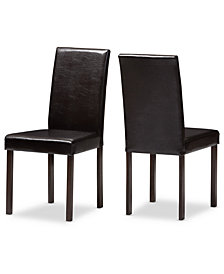Aurra Dining Chair (Set of 2), Quick Ship