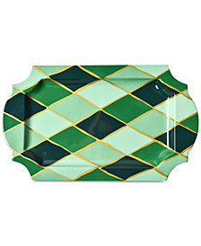 Coton Colors Emerald Collection Diamond Traditional Tray