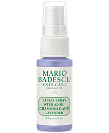 Receive a FREE 1oz. Facial Spray with Aloe, Chamomile and Lavender with $24 Mario Badescu Purchase!