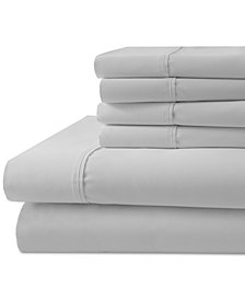 1000-Thread Count 6-Pc. White Full Sheet Set