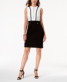 Ivanka Trump Zip-Front Dress