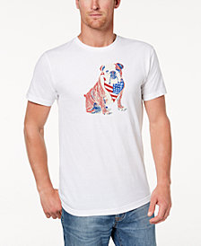 Club Room Men's American Bulldog Graphic T-Shirt, Created for Macy's