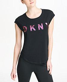DKNY Sport Sleeveless Relaxed Logo T-Shirt