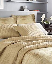 Donna Karan Casual Luxe Cotton Quilt & Sham Collection