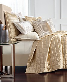 Hotel Collection Mosaic Grid King Coverlet, Created for Macy's