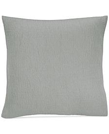 Donna Karan Casual Luxe Cotton Textured European Sham