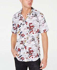 GUESS Men's Sakura Shirt