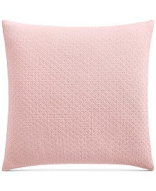 LAST ACT! Charter Club Damask Designs Diamond Dot Cotton 300-Thread Count European Sham, Created for Macy's