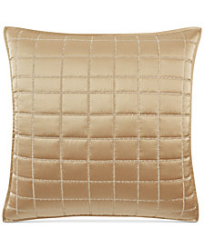 Hotel Collection Mosaic Grid Quilted European Sham, Created for Macy's