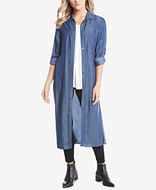 Karen Kane Convertible Midi Shirtdress