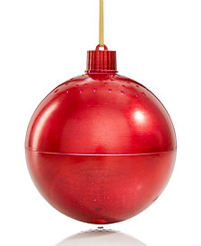 Holiday Lane Red Ornament with Bluetooth Function, Created for Macy's