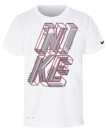 Nike Little Boys Dri-FIT Block Graphic-Print T-Shirt