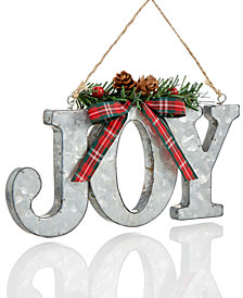 Holiday Lane Metal Joy Ornament, Created for Macy's