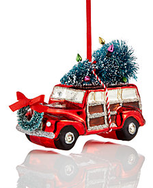 Holiday Lane Car with Tree Ornament, Created for Macy's