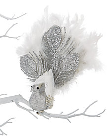 Holiday Lane Peacock Clip Ornament, Created for Macy's